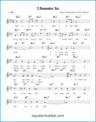 i remember you 1 lagu jazz standar