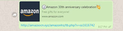 amazon 30th anniversary celebration Fack amazon 30th anniversary celebration scam