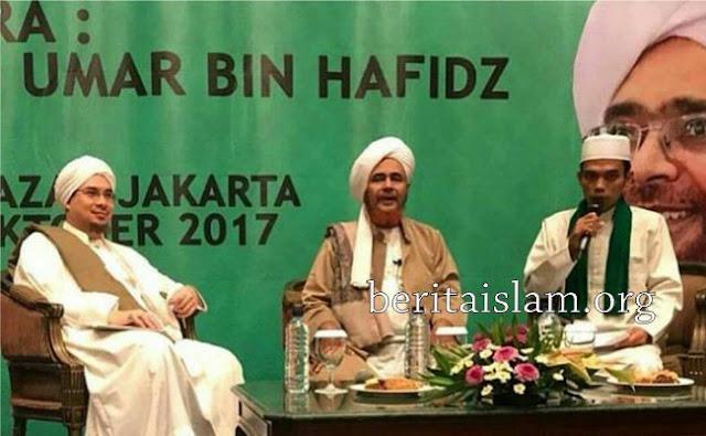 Ustadz Abdul Somad dan Habib Umar bin Hafidz