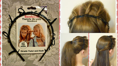 Bandables twisty braids headband review and tutorial