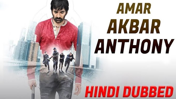 Amar Akbhar Anthoni 2019 South Hindi Full Movie Download HDRip