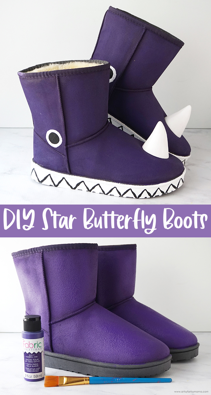 DIY Star Butterfly Boots