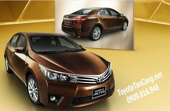 Toyota Corolla Altis 2014 -2015(thế hệ thứ 11) đã có mặt tại Việt Nam