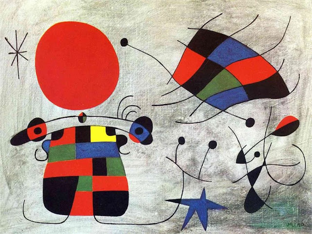 The Smile of the Flamboyant Wing, Joan Miró (1953), Museuo National Del Arte (Madrid)