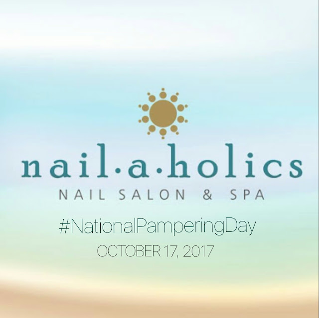 Nailaholics celebrate #NationalPamperingDay again!