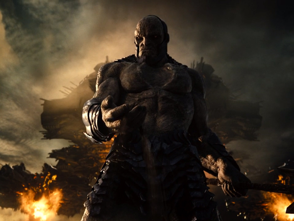 Darkseid (voiced by Ray Porter) is out to make Earth his latest conquest in ZACK SNYDER'S JUSTICE LEAGUE.