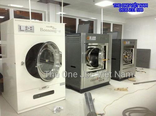 Máy giặt sấy công nghiệp cho bệnh viện ở Quảng Ninh