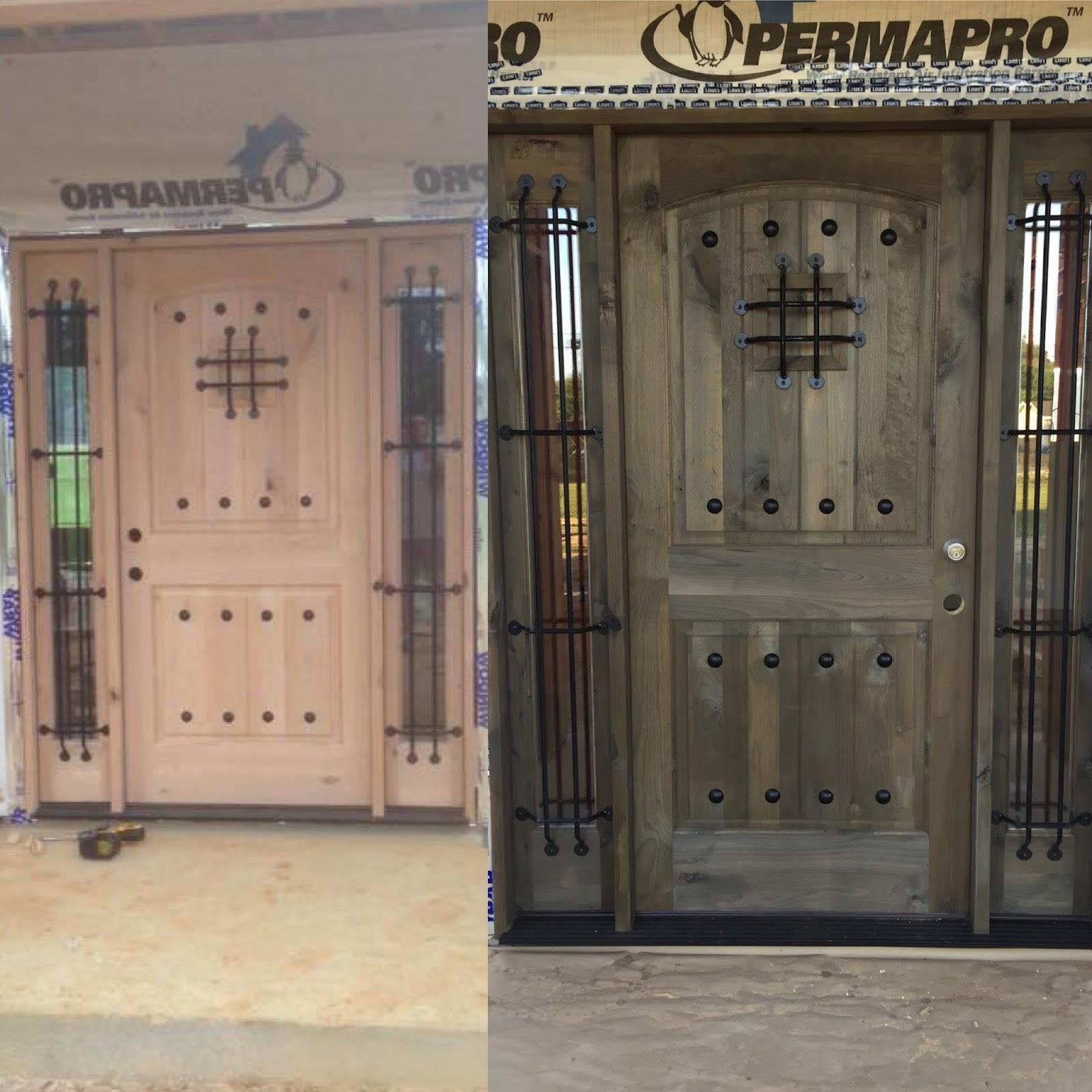 1600 #876C44 From Gardners 2 Bergers: Rustic Barnwood Front Door pic Rustic Exterior Doors 40311600