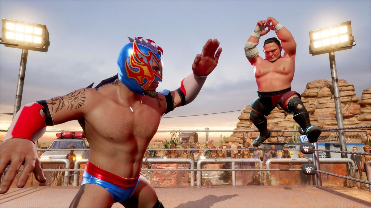 WWE 2K Battlegrounds: Primeiras impressões