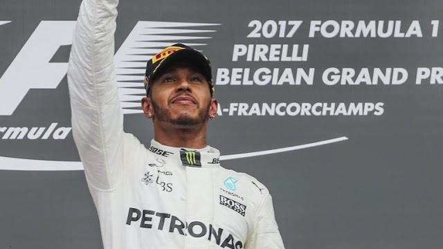 Lewis Hamilton vence GP da Bélgica