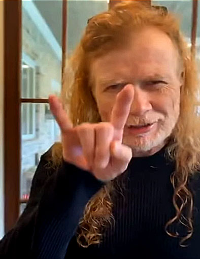 """Dave Mustaine asegura que el nuevo disco de Megadeth """"Está quedando genial"""""""