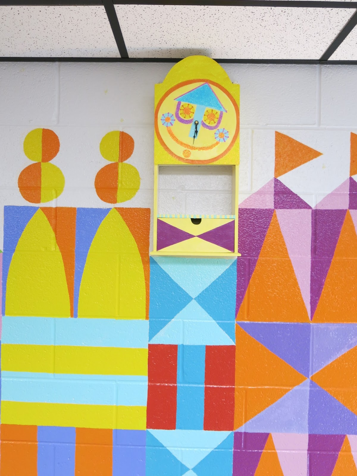 Cassie Stephens: In the Art Room: It\'s a Small World Mural
