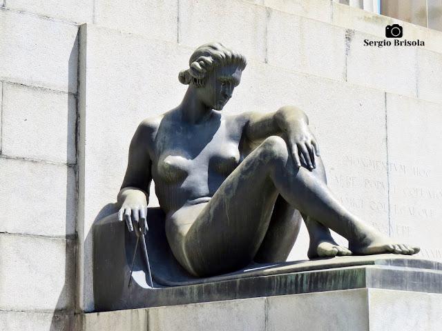Musa da Arquitetura - Monumento a Ramos de Azevedo