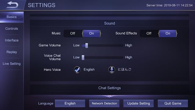sound effect mobile legends