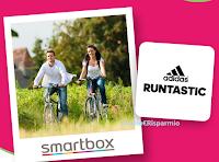 """Logo Concorso Pink Lady """"Estate in movimento"""" : vinci cofanetti Smartbox e 100 abbonamenti App Adidas Running e Training"""