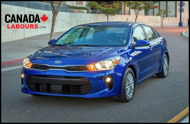 KIA RIO, Cheapest new Cars in Canada