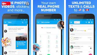 تحميل تطبيق Text Me: Text Free, Call Free, Second Phone Number لعمل ارقام وتفعيل واتساب برقم كندي للاندرويد بأخر إصدار برابط تحميل مباشر بأخر إصدار، تحميل تطبيق Text Me وتفعيل واتساب عبر رقم كندي للاندرويد مضمون تماماً 100/100 بأخر إصدار
