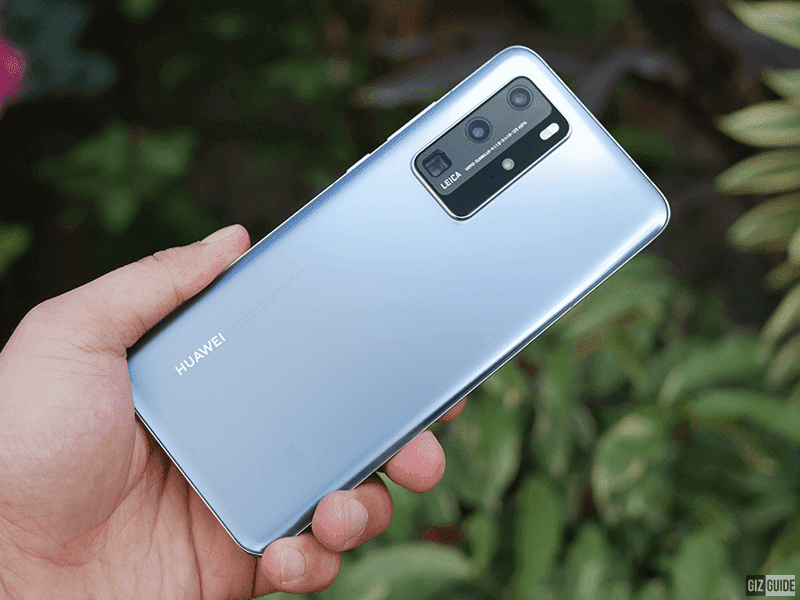 The Huawei P40 Pro has 4 cameras that allow you to capture stunning images