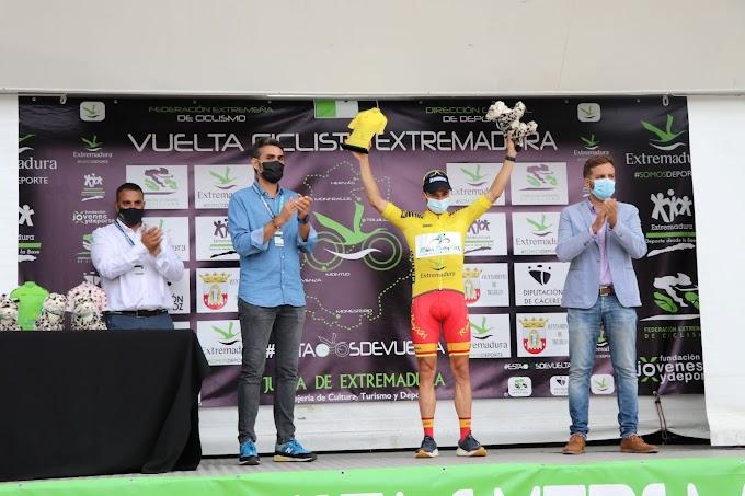 El Vigo - Rías Baixas logró otro triunfo en la Vuelta Ciclista Extremadura y esta vez con Benjamí Prades