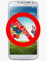 handphone hilang