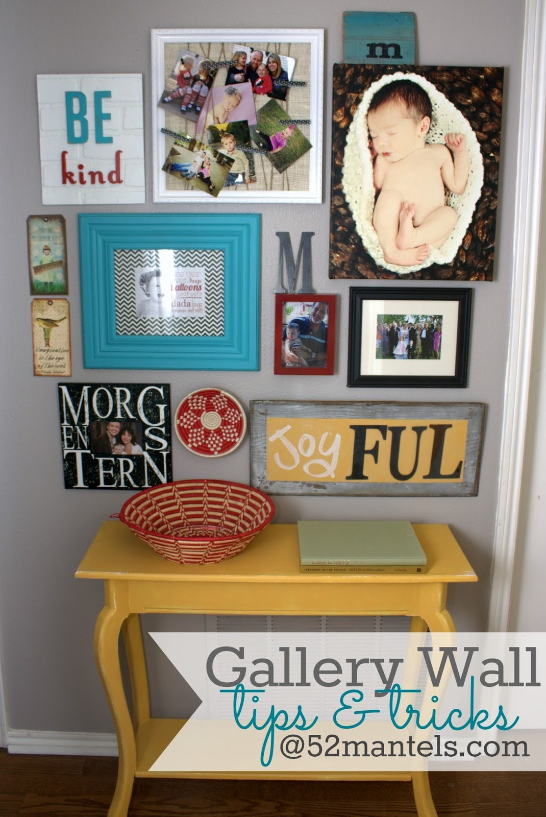 Gallery For Cute Guys With Brown Hair And Green Eyes: 52 Mantels: Gallery Wall Details {from My Hallway Makeover!}