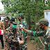 Penutupan TMMD Desa Bero Terapkan Protokol Kesehatan Secara Ketat