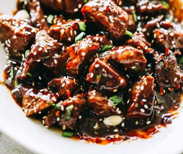 Savory Honey Garlic Steak Bites