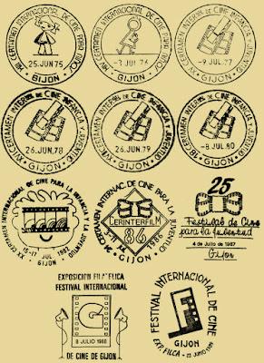 Matasellos del Festival de Cine de Gijón