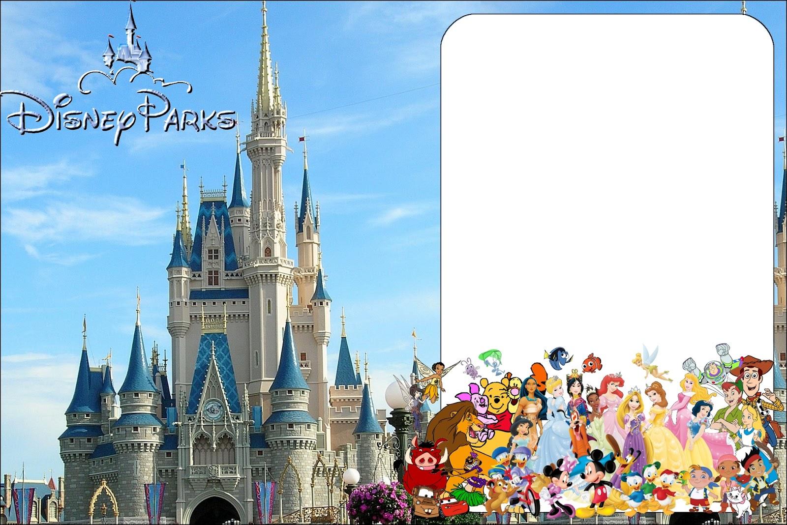 Disney World Free Printable Invitations Oh My Fiesta In English