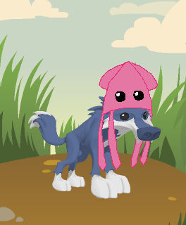 Image result for animal jam flash squid hat