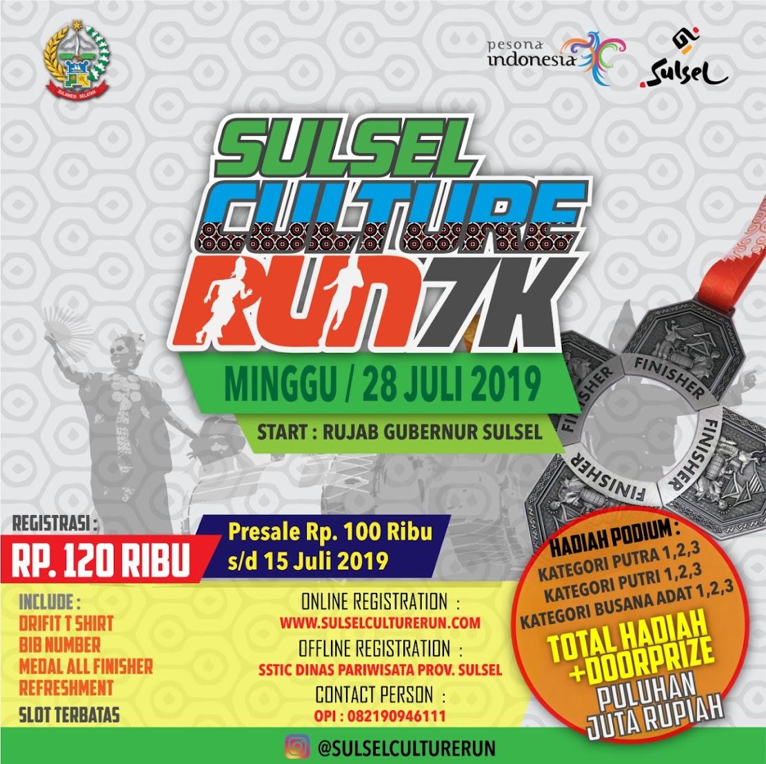 Sulsel Culture Run • 2019