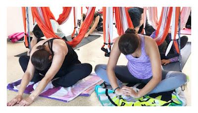 cours yoga aérien