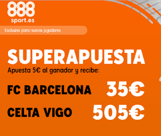 888sport superapuesta liga Barcelona vs Celta 9 noviembre 2019