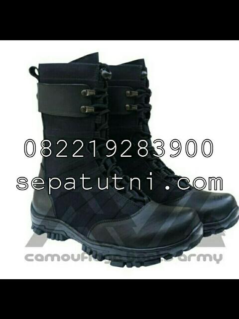 Sepatu PDL Brimob model ninja merk AWL