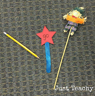 Measuring length with classroom objects