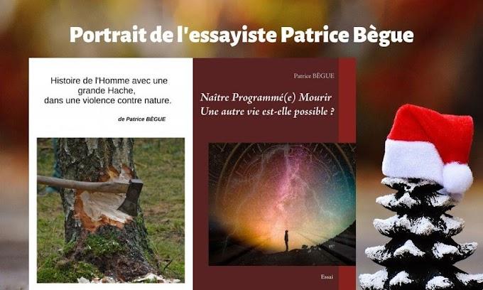 Interview de l'essayiste auto-édité Patrice Bègue