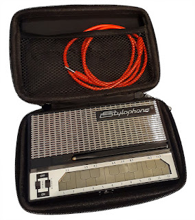 S-1 Stylophone Carry Case - opened