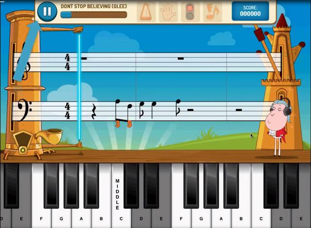 Piano Maestro iPad screen shot