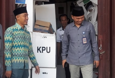 4.875 Kotak Suara Pemilu di Lambar Dilakukan Pengosongan