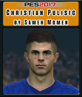 PES 2017 Faces Christian Pulisic by Sameh Momen