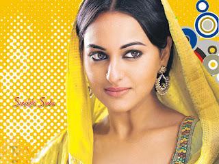 Sonakshi Sinha Amazing Hindi Movie Actress Pictures
