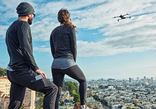 Tinuku.com Airdog ADII handsfree drone faithfully follows explorers