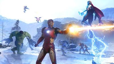 Marvel's Avengers battle scene 2