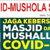 KEMENKES : Jaga Kebersihan Masjid dan Mushola dari Covid-19/Corona