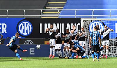 ملخص واهداف مباراة انتر ميلان واودينيزي (5-1) الدوري الايطالي