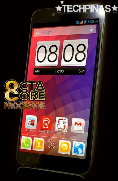 Starmobile Diamond X1, Local Octa Core Smartphone
