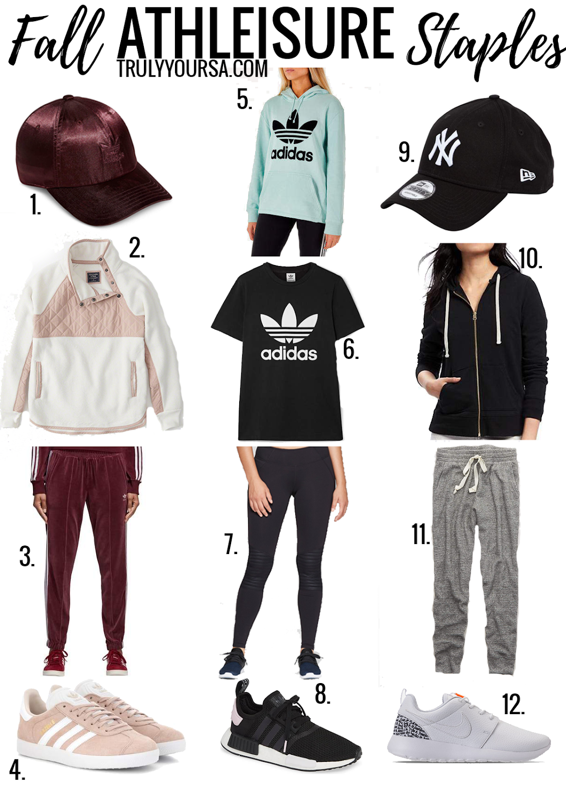 As a stay-at-home mom there's nothing I wear more than joggers or leggings and I'm not complaining at all! They're so comfortable and if I have to leave the house, I still look pretty put together. Here are a few of my favorite athleisure staples that are sure to be your favorites, too! #fallfashion #athleisure