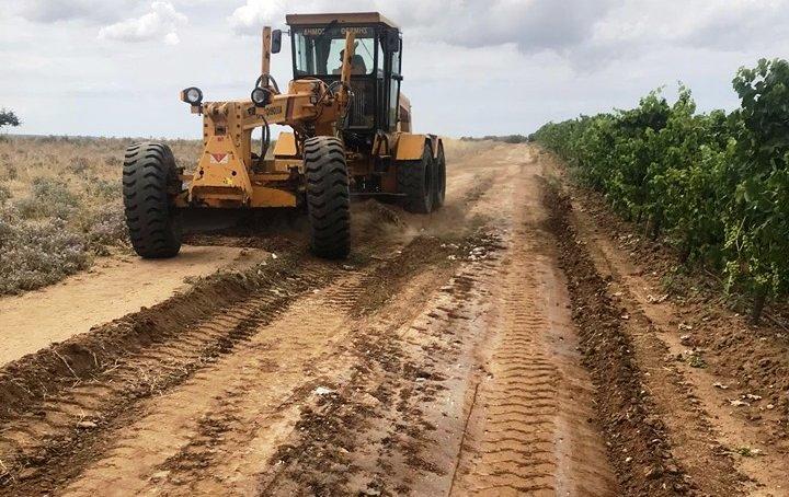 Δήμος Τανάγρας - Δερβενοχωρία : Αγροτική οδοποιία για τη στήριξη της αγροτικής οικονομίας(ΦΩΤΟ)