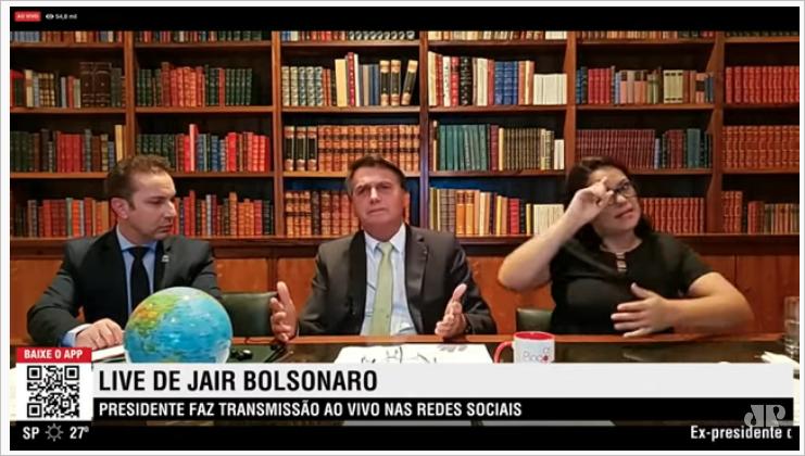 Live de Bolsonaro: Ele abre o verbo e fala tudo.. Lockdowns vai colapsar a sociedade