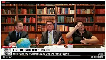 Live de Bolsonaro: Ele abre o verbo e fala tudo... Lockdown vai colapsar a sociedade